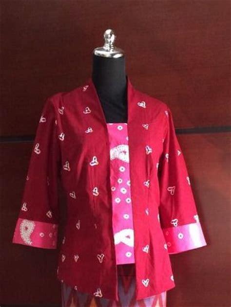 Tunic Batik Sogan Kerah Balik Terbaru 94 best kebaya indonesia images on kebaya indonesia batik dress and batik fashion