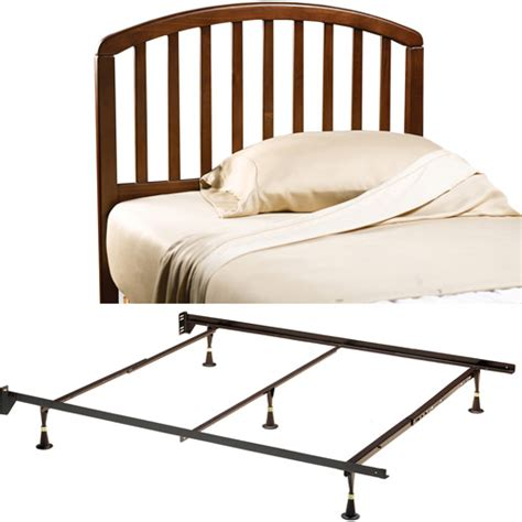 walmart com bed frames carolina full queen headboard and bed frame cherry