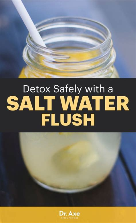 Detox Water Facts by Salt Water Flush Safest Way To Cleanse The Colon And Detox