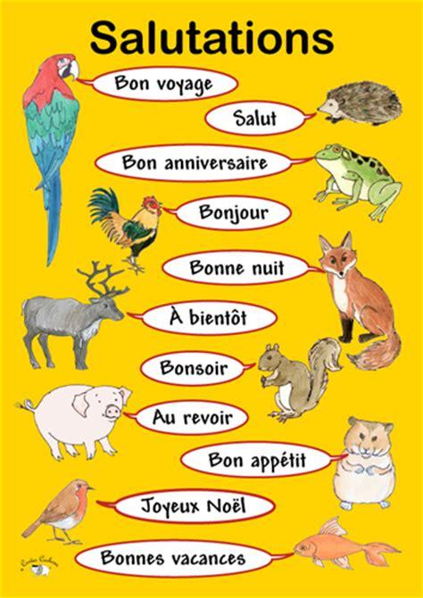 Greeting Poster poster salutations linguist