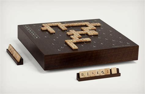 Scrabble Typography 2nd Limited Edition New Typefaces
