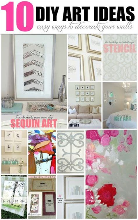 diy wall hangings dozens of great ideas for decorating 10 diy wall art ideas this list includes plenty of easy