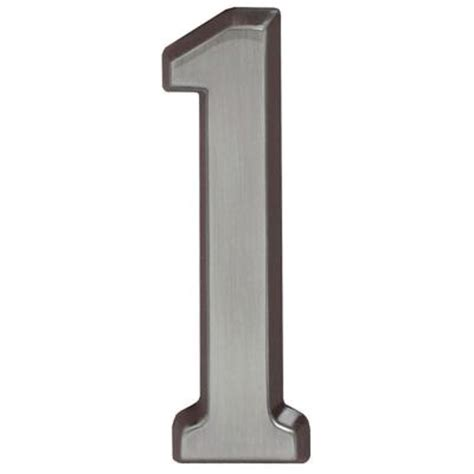 whitehall products 4 in brushed nickel number 1 12811