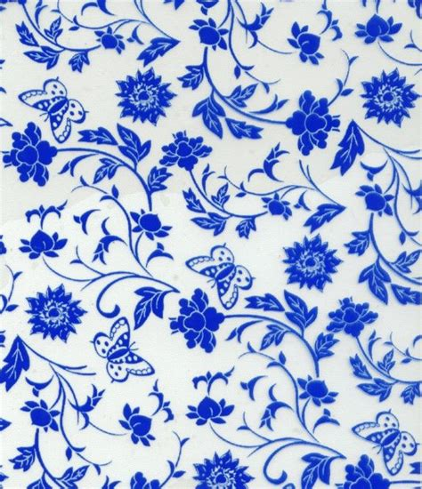 china designs blue and white vase pattern name search