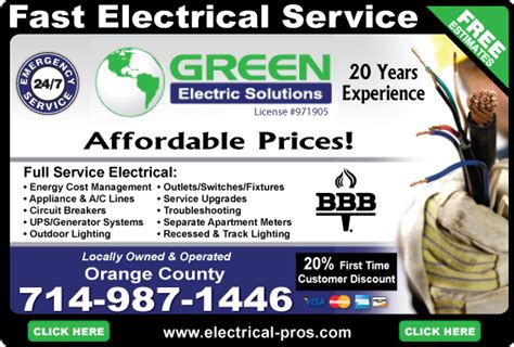 The Environmental Ad Caign Fronted By A Sultry Mills by Find Anaheim Electricians Electrician Anaheim Ca