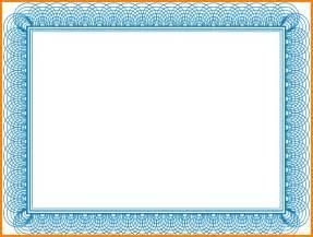 11 blue certificate border png sephora resume