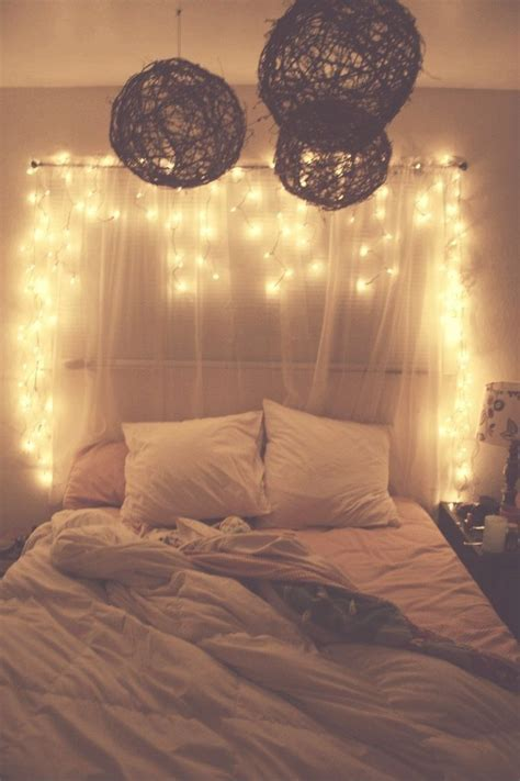 hanging christmas lights in your bedroom pictures photos