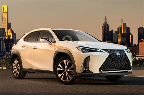 lexus crossover inside lexus ux crossover revealed with aggressive design and