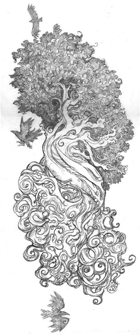 yggdrasil tattoo by shadowgirl on deviantart