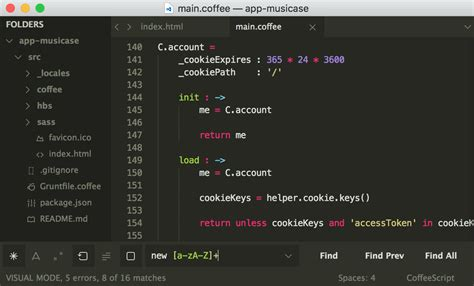 spacegray a hyperminimal ui theme for sublime text theme amcoder packages package control