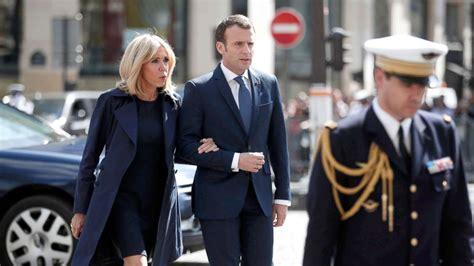 emmanuel macron mother brigitte macron france s first lady is her husband s