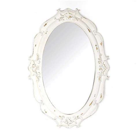 Vintage Oval White vintage white oval decorative mirror kirklands