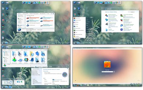 themes for windows 7 skin pack radiance skin pack skinpack customize your digital world