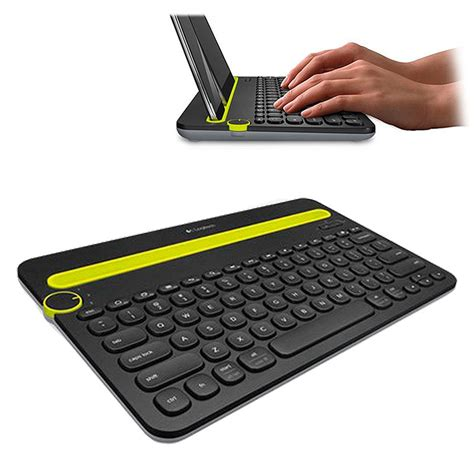 Logitech Bluetooth Multi Device Keyboard K480 logitech k480 bluetooth multi device keyboard nordic layout black