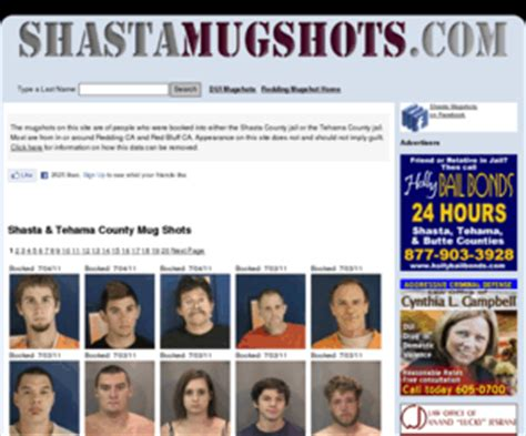 Arrest Records Shasta County Shastamugshots Redding Shasta County Ca Mugshots