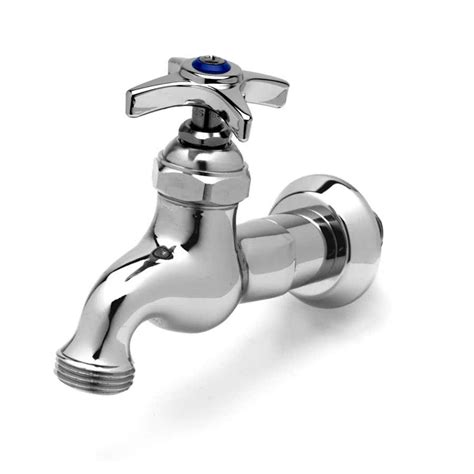 What Is A Faucet by T S B 0718 Single Sink Faucet With 1 2 Quot Npt Inlet 4 Arm Handle Blue Index And 3 4
