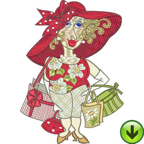 embroidery design ladies fun ladies machine embroidery collection download