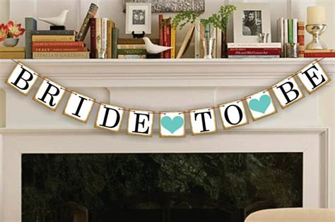 Wedding Banner Garland by To Be Banner Wedding Banners Bridal Shower