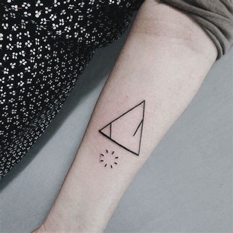triangle tattoos meaning 17 best ideas about triangle meanings on
