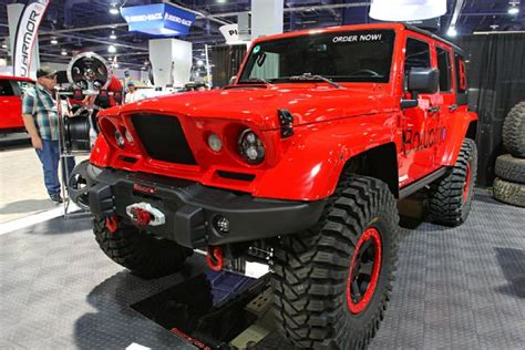 jeep kaiser 2017 a collection of sema 2016 4x4s