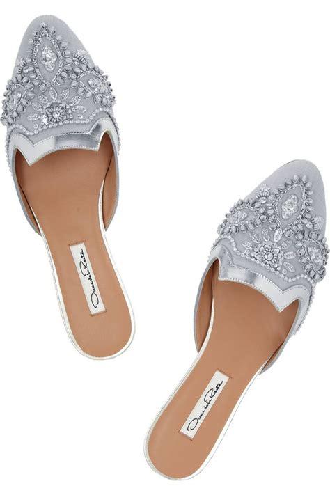 Selop Wedges Tebal 10 inspirasi sepatu pernikahan buat kamu yang tidak suka