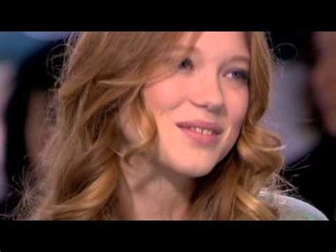 lea seydoux youtube interview l 233 a seydoux interview mission impossible youtube