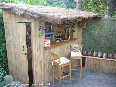 Shed Tiki Bar by 25 Best Ideas About Garden Bar On Outdoor