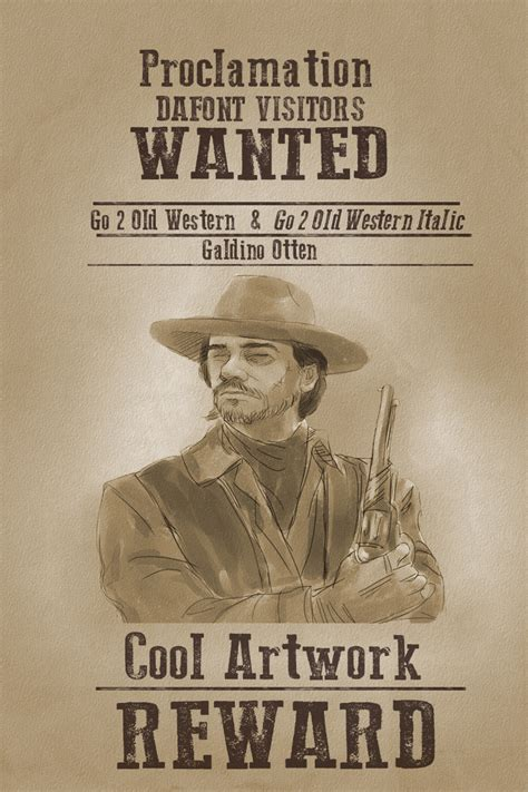 dafont western go 2 old western dafont com