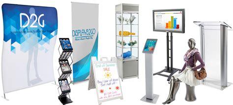 displays2go display products pos retail fixtures floor sign stands canada gurus floor