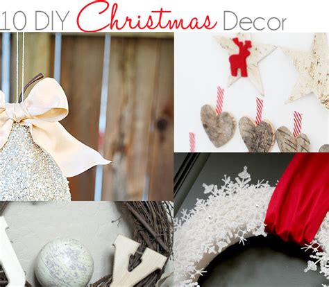 10 diy christmas decor ideas 187 little inspiration