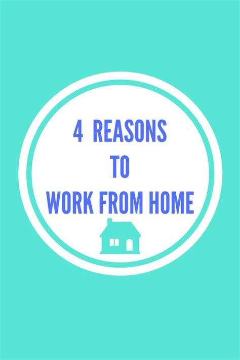 top 4 reasons to work from home what s working here
