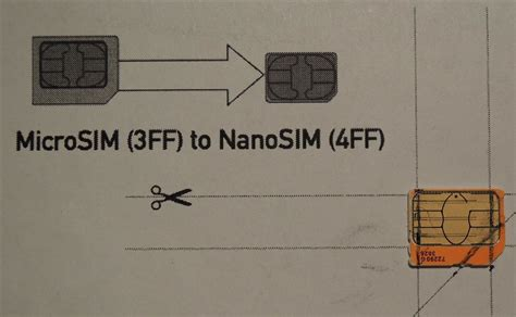 How To Cut Sim Card Into Nano Sim Template by How To Convert A Micro Sim Card To Fit The Nano Slot On