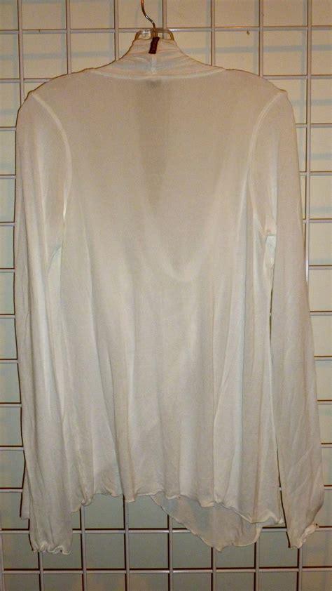 double drape hardtail long sleeve double drape pullover cardigan xs