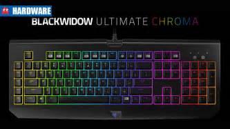 razer reveals new blackwidow ultimate chroma gaming keyboard