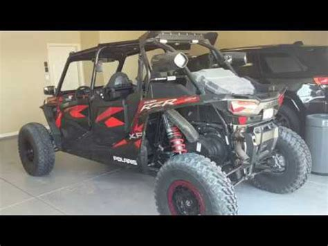 "2018 polaris rzr xp 4 1000 turbo fox edition 32"" tires"