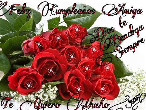 imagenes de feliz cumpleaños amiga con rosas rojas arreglos florales para feliz cumplea 241 os para regalar en