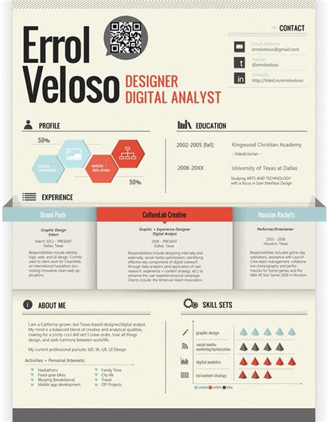 17 Awesome Examples of Creative CVs / Resumes