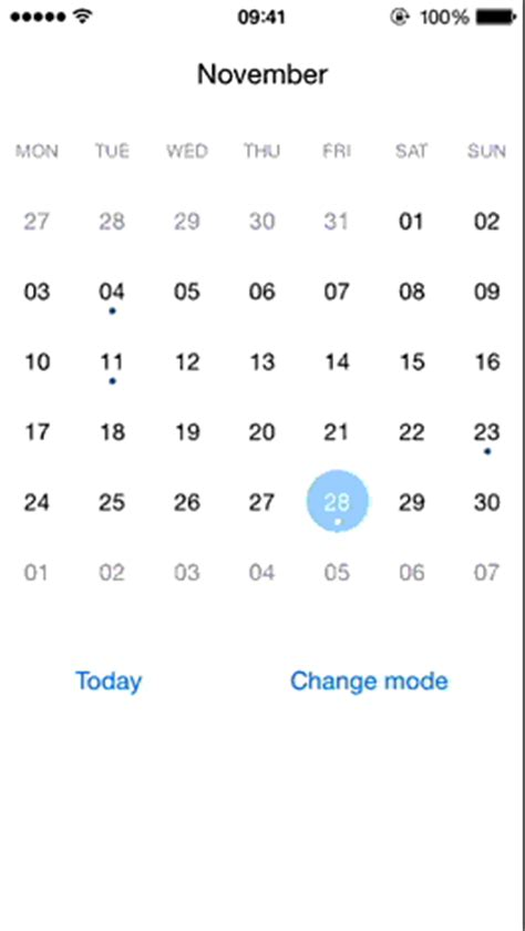 github events tutorial open source ios calendar component featuring
