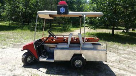 Golf Cart Lights 1994 Ezgo Ambulance Gas Golf Cart Used Cushman Call