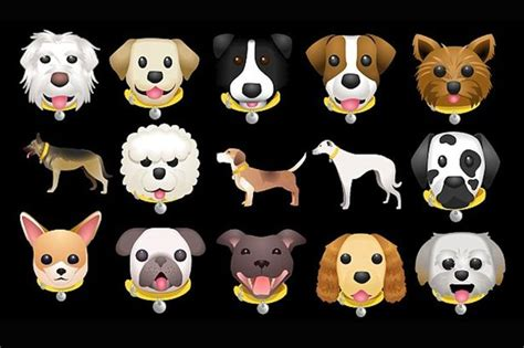 dog emoji keyboard lets  send cute pictures