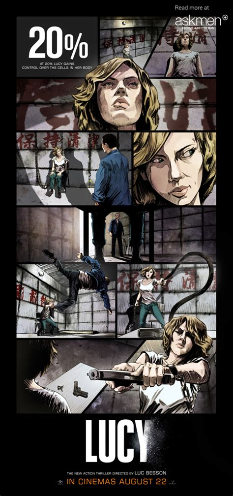 Lucy Film Graphic Novel | lucy graphic novel askmen