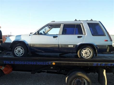1984 Toyota 4x4 For Sale 1984 Toyota Tercel 4x4 Sr5 Wagon