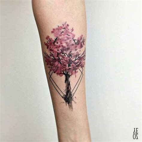 125 best cherry blossom tattoos of 2018 wild tattoo art
