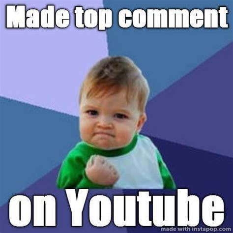 Youtube Memes - mad baby meme quot made top comment on youtube quot memes