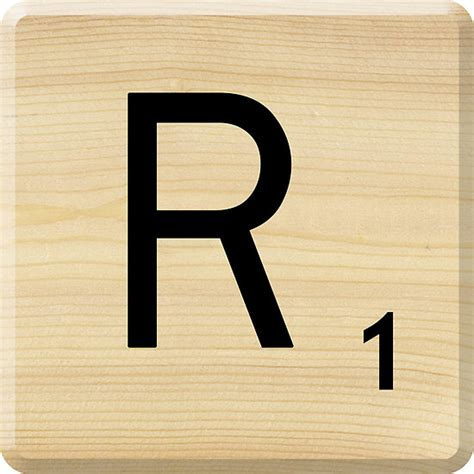 scrabble letter r golembeski doreen 100 picture books