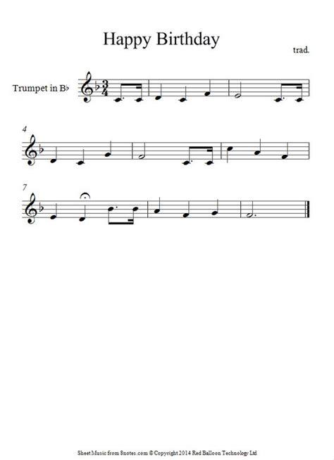 happy birthday instrumental violin mp3 download trumpet happy birthday sheet music 8notes com