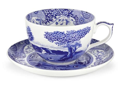 spode blue room jumbo cup and saucer spode blue italian jumbo cup and saucer boxed set spode uk