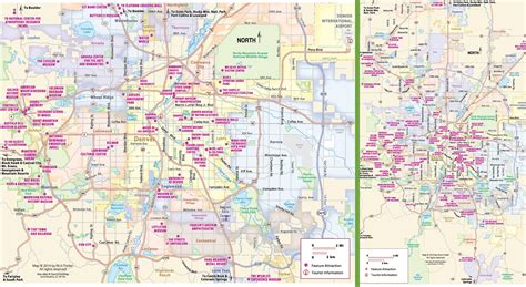 map of tourist attractions 2 denver tourist attractions map