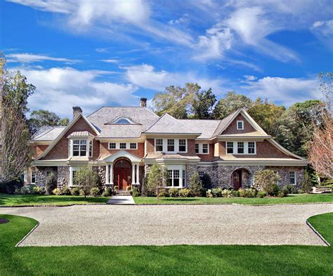 shingle style homes victorian style innovation and tradition in stone with shingles exterior traditional with garage door
