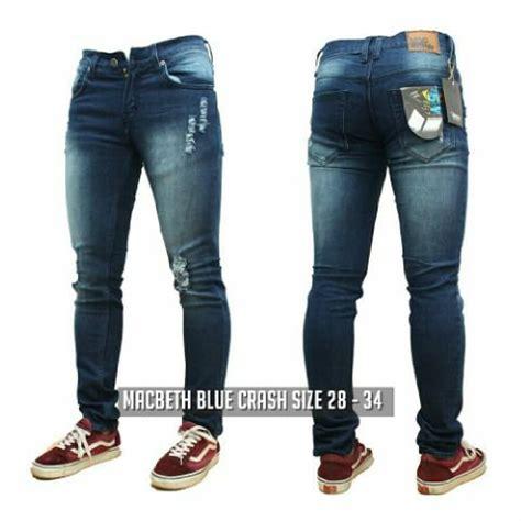 Celana Cowok Robek jual beli celana machbeth ripped robek baru